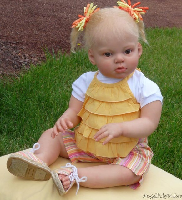 DIY Reborn doll mold silicone mold Arianna reborn toddler Reva creative handmade doll accseeory