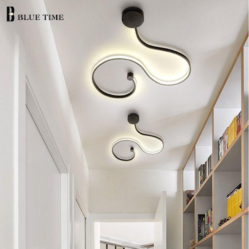 Moderne LED Plafonnier Lustres AC110V 220 v Creative Led Plafond Lampe Pour Salon Chambre salle À Manger À Côté de chambre luminaire