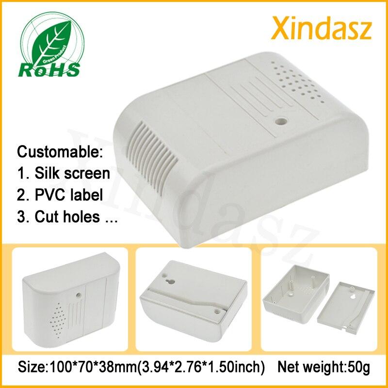 (XD0104091)100*70*38mm Special electronic plastic shell plastic case shell smoke alarm sensor housing smoke alarm shell special make 100