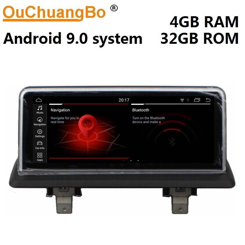 Ouchuangbo radio gps lecteur multimédia enregistreur pour E87 2005-2012 avec lien miroir android 9.0 6 core 4GB + 32GB