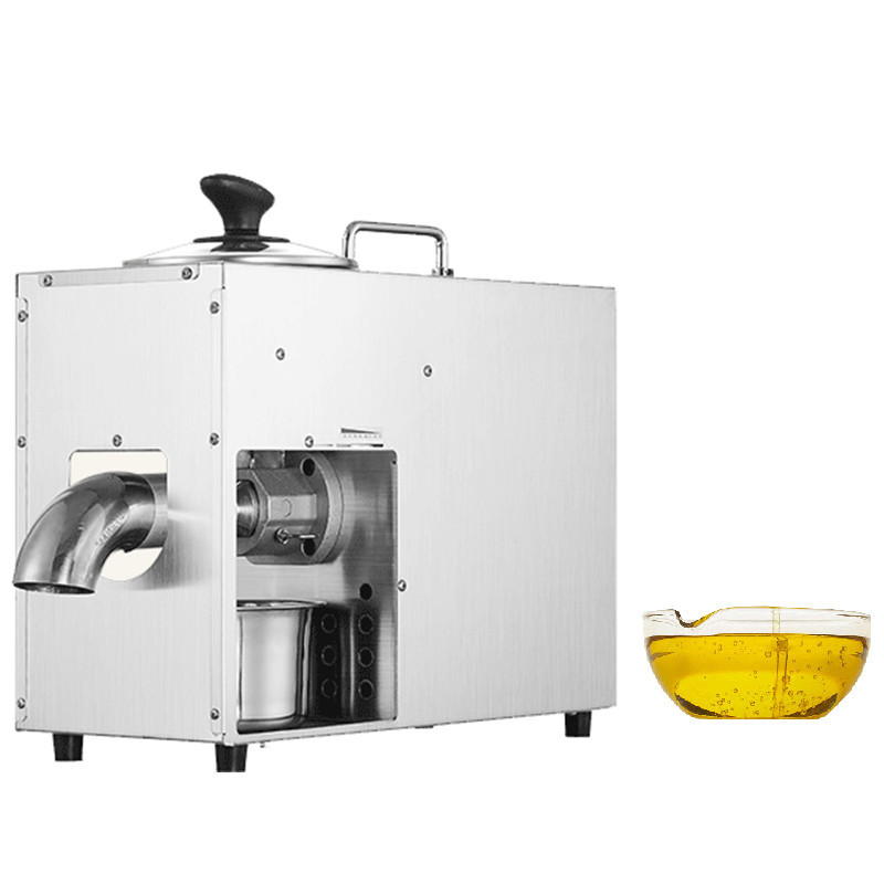 BEIJAMEI High Oil Production Rate Oil Press Maker Electric Commercial Peanut, Walnut kernel, Almond Hot Cold Press Oil Machine 110 240v commercial small oil press machine peanut sesame cold press oil machine high oil extraction rate cheap price page 8