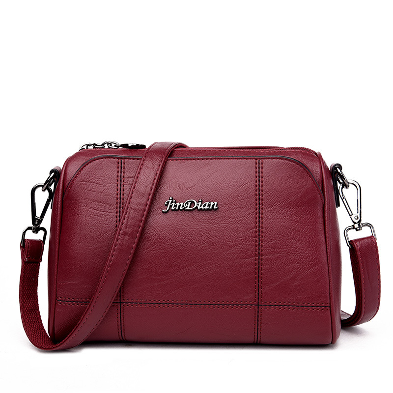 Fashion Leather Shoulder Bag For Women Ladies Crossbody Bags Female Handbag Totes Messenger Bags Satchel Clutch Bolsas Femininas 2016 women fashion brand leather bag female drawstring bucket shoulder crossbody handbag lady messenger bags clutch dollar price