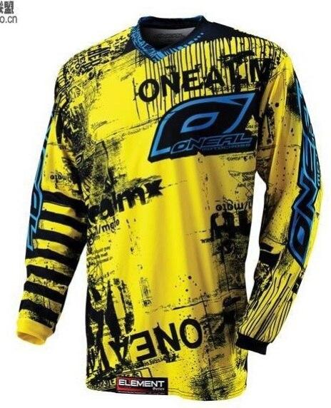 Prix pour 2017 NOUVEAU motocross Maillots Dirt bike vélo vélo VTT descente chemises moto t-shirt de Course Jersey M L XL
