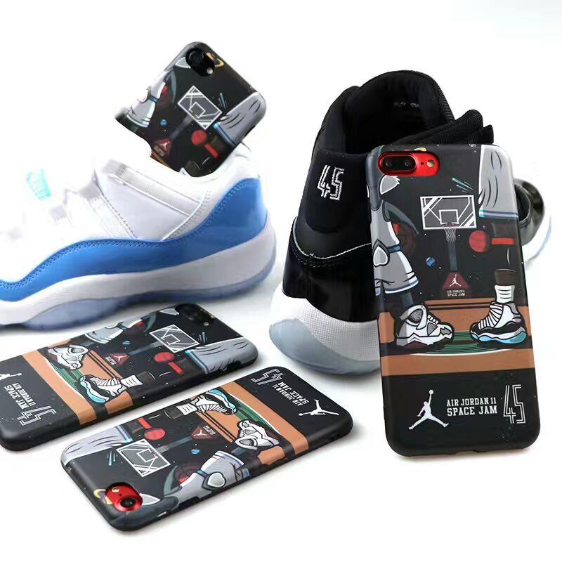80b1ce4256da19 Hot NBA Basketball Michael Air Jordan 11 Space Jam 45 Cell Phone For iphone  6 6s 6Plus 6sPlus 7 7Plus Men Cartoon Case Cover. 1. 2. 3. 4 5 ...