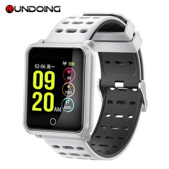 Rundoing N88 Smart Watch Bluetooth Fitness IP68 Waterproof 1.3 Color Screen Watch Heart Rate,Swim Sport Smartwatch new garmin watch 2019