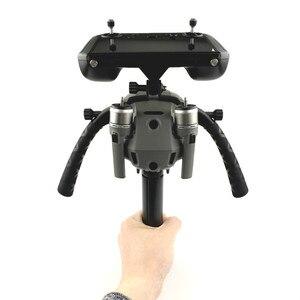Image 2 - Mavic Kit de soporte de sujeción doble para Dron, estabilizadores de reajuste de cardán para Control remoto con pantalla para DJI MAVIC 2 PRO/ZOOM