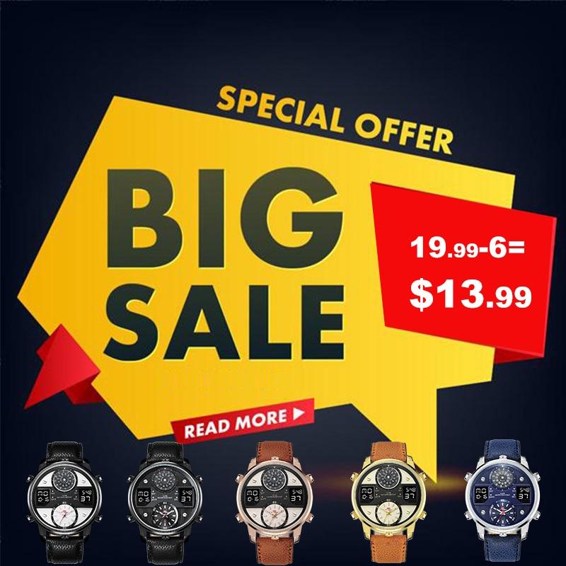 KAT WACH Watch Man Luxury Brand Man 5ATM Waterproof Clock Men s Analog Quartz Date Watches