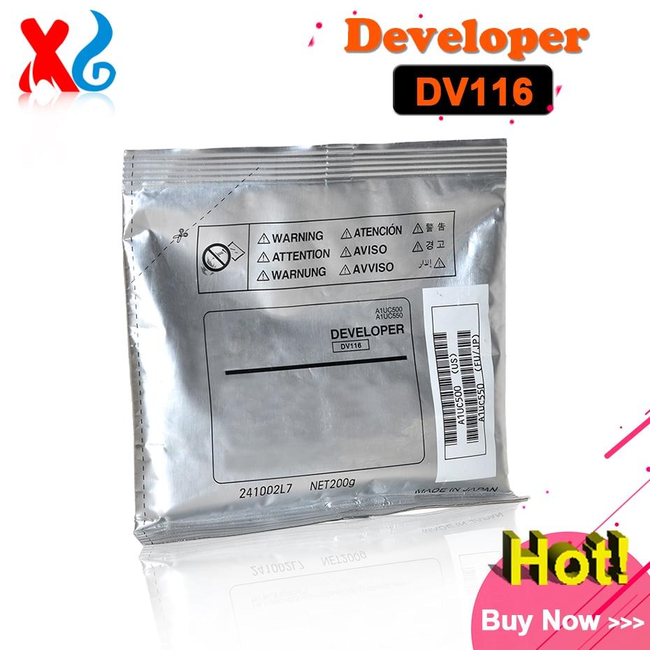 Japan DV116 Developer for Konica Minolta Bizhub 164 184 185 195 215 235 7718 7818 7719 7723 6180 Developer Powder Copier Parts
