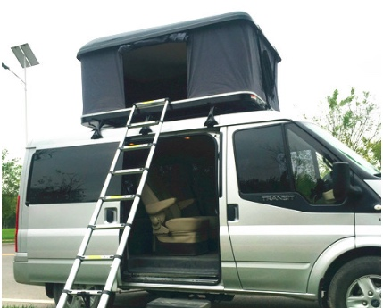 Hard shell car roof top tent