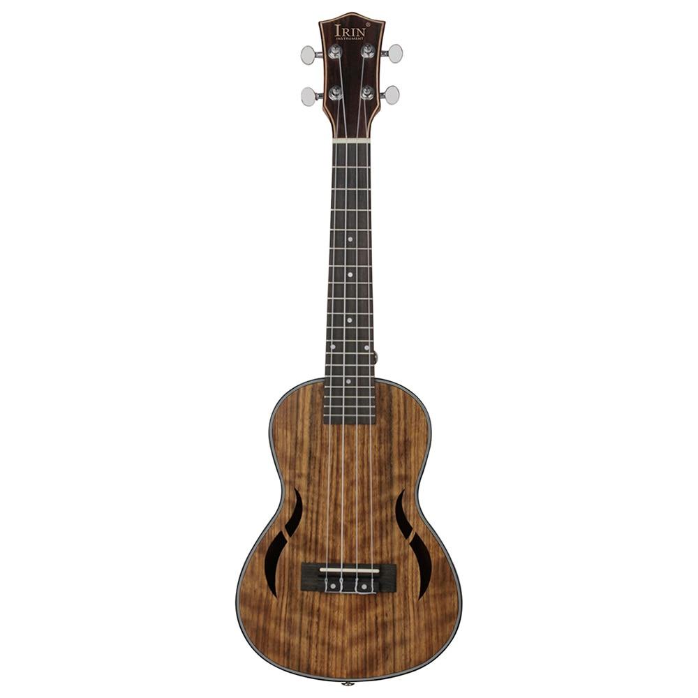 IRIN UK2660 26 pouces qualité noyer quatre cordes ukulélé Durable Nylon chaîne métal Tuning Peg ukulélé Instruments à cordes