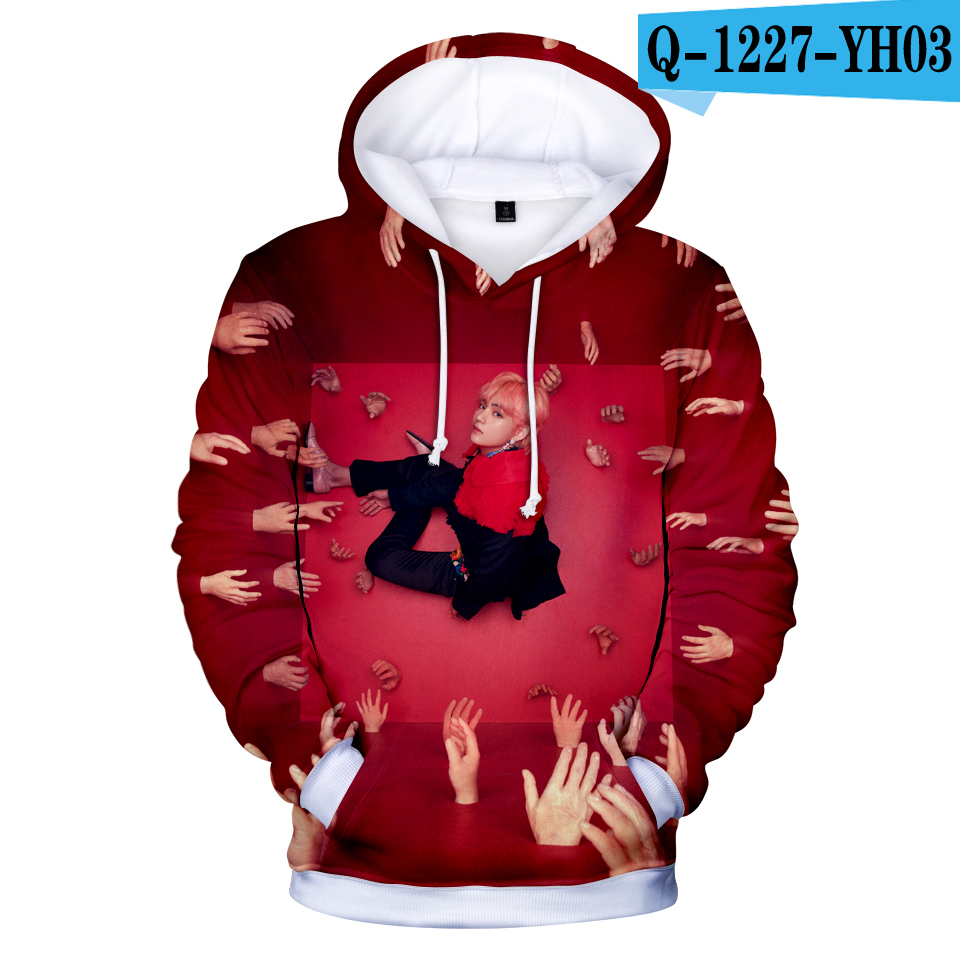 705ed9cf1 New# Frdum Tommy BTS 3D Hoodies Hot Selling Harajuku Love Yourself Answer  Bangtan Boys Women Fans Hip Hop Women Kpop Idol Fashion-in Hoodies &  Sweatshirts ...