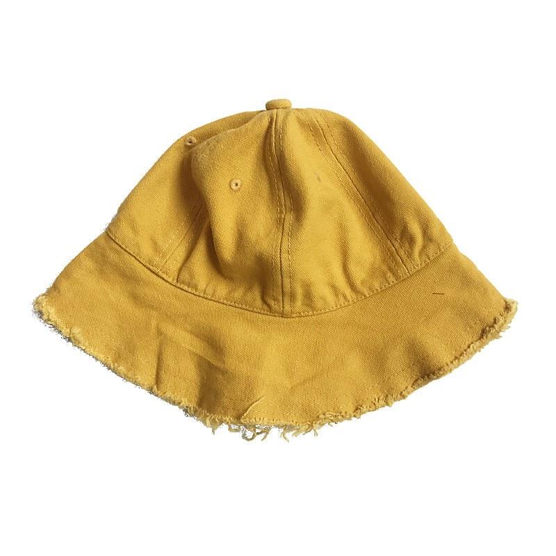 Toddler Infant Sun Cap 2021 Summer Baby Girls Boys Sun Beach Cotton Denim Hat  11