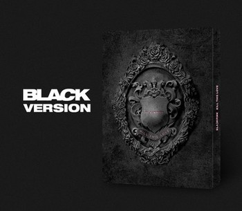 [MYKPOP]~100% OFFICIAL ORIGINAL~ BLACKPINK Mini 2  KILL THIS LOVE   Album CD + Photo Book KPOP Fans Collection SA19061102 - BLACK Ver.