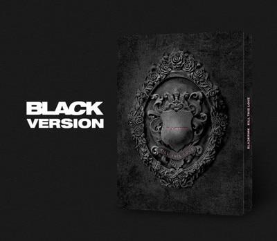 [MYKPOP] ~ 100% ORIGINAL officiel ~ BLACKPINK Mini 2 tuer cet Album d'amour CD + livre Photo KPOP Fans Collection SA19061102-Ver noir.