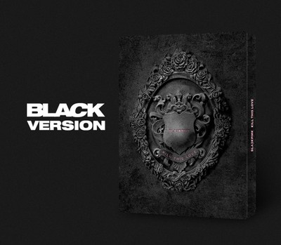 [MYKPOP] ~ 100% ORIGINAL officiel ~ BLACKPINK Mini 2 tuer cet Album d'amour CD + livre Photo KPOP Fans Collection SA19061102-Ver noir.