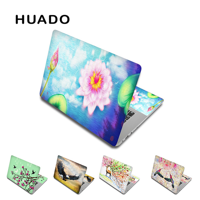Flower Notebook Sticker 15inch Laptop Skin 17inch 13 14 Computer