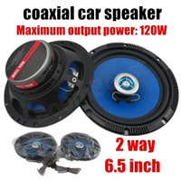 2x 5 Inch Coaxial Car Speaker Hot Sale Car Stereo Speaker Audio Speaker Universal For All
