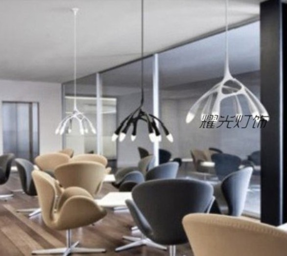 ikea office lighting. scandinavian designer restaurant lights office lamps living room creative study design six chandelier ikea milan ikea lighting a