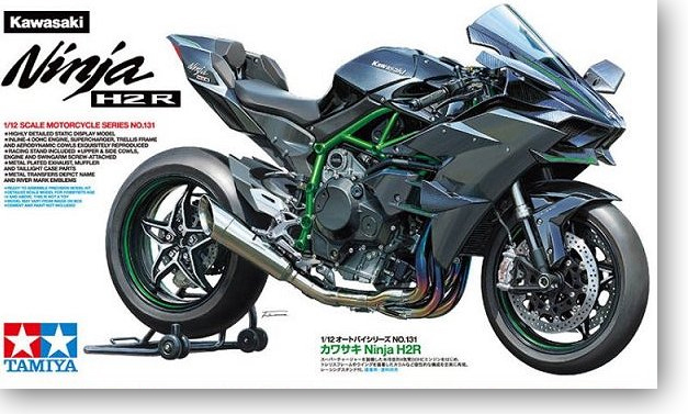 1/12 Kawasaki Ninja H2r Ninja Motosiklet 141311/12 Kawasaki Ninja H2r Ninja Motosiklet 14131