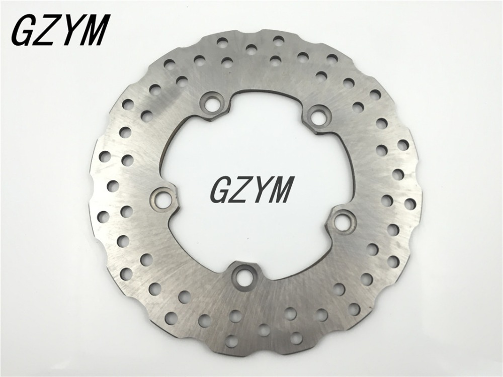 Motorcycle Rear Brake Disc Rotor For Yamaha YZF-R6 R6 YZF600 2003-2015 YZF-R1 R1 YZF1000 2004-2014 mfs motor motorcycle part front rear brake discs rotor for yamaha yzf r6 2003 2004 2005 yzfr6 03 04 05 gold