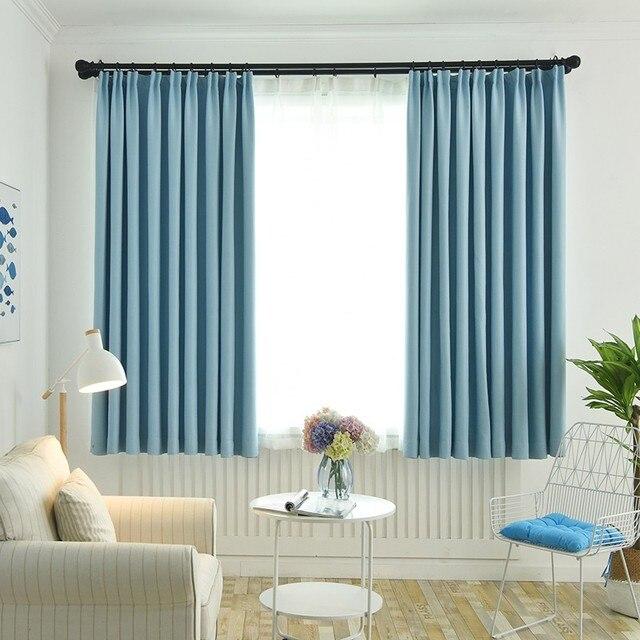 Tissu épais 90 Rideaux Dombrage Pour Chambre Salon Moderne Rideau