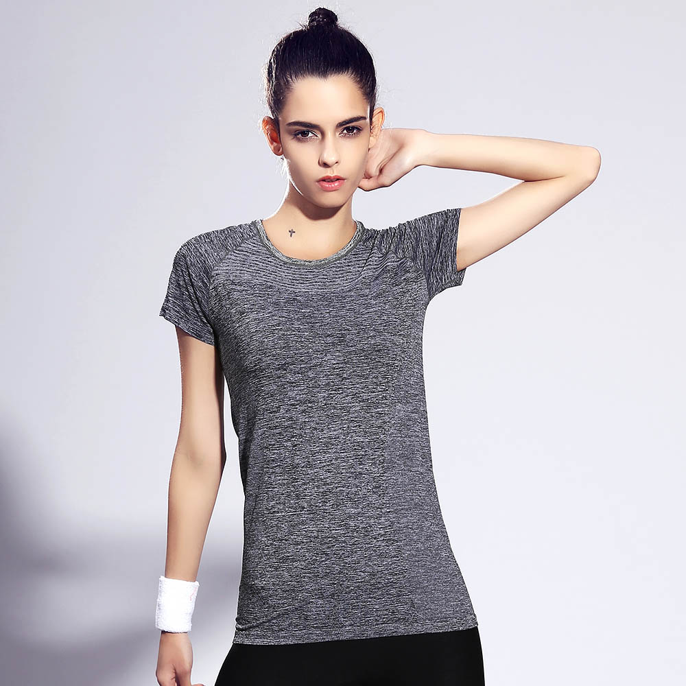 Design t shirt price - Women S Sports T Shirts Short Sleeve High Elastic Quick Dry Fitness Running Outdoor Shirt Sportswear