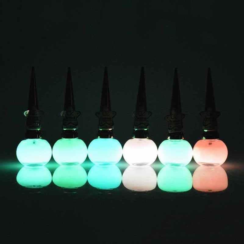 Moda unha polonês não-tóxico 12 cores fluorescente neon gel luminoso unha polonês para brilho no escuro para as crianças 14 ml