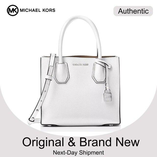af64428e342e Michael Kors Mercer Pebble Leather Crossbody Luxury Handbags For Women Bags  Designer by MK