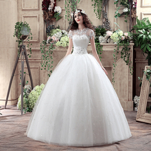 2016 Free Shipping Real Photo Vestidos Camo Wedding Ball Gowns Vintage Belt Plus Size Dresses with Sleeve Under 100
