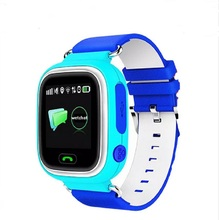 youngsters GPS Sensible Watch Q90 Contact Display screen WIFI Child watch telephone SOS Name tracker Gadget distant Monitor for child safepk q50 q100 Q750