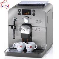 Cafetera italiana automática  café espresso en polvo o frijoles  espuma de leche  tres usos para las tiendas  cafetera  máquina 220V CE
