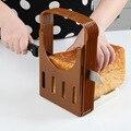 2016 нью-ес дизайн ABS + пластиковые складной cozinha хлеборезка для хлеб / сахар-буханка / тост резка - порезы-из даже ломтики бесплатная доставка EU001