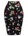 Saia Falda de Las Señoras OL de Las Mujeres Cabidas Delgadas Faldas Lápiz Cadera Faldas de Cintura Alta Floral Trabajo Negocio Ocasional del Club Del Partido de Las Mujeres falda