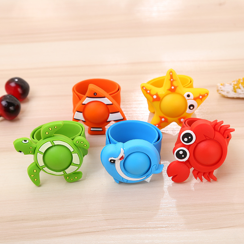 VILEAD Environmental Protection Silicone Baby Mosquito Repellent Bracelet Outdoor Cartoon Natural Herbal Fragrance <font><b>Pest</b></font> Control