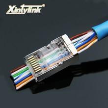 xintylink EZ rj45 plug cat6 cat5 cat5e network con