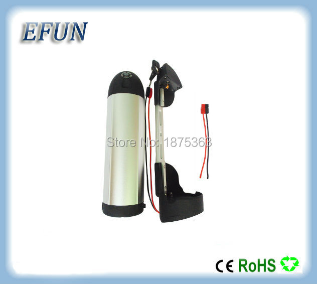 New bottle/dolphin down tube 48V 12Ah 30Q Li-ion ebike battery for fat tire bike compitable with BBSHD mid drive motor