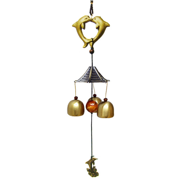 3 Bells Feng Shui Windchimes Home Decoration Outdoor Wind Chimes  Traditional Chinese Folk Hanging Door Chimes 23 Styles