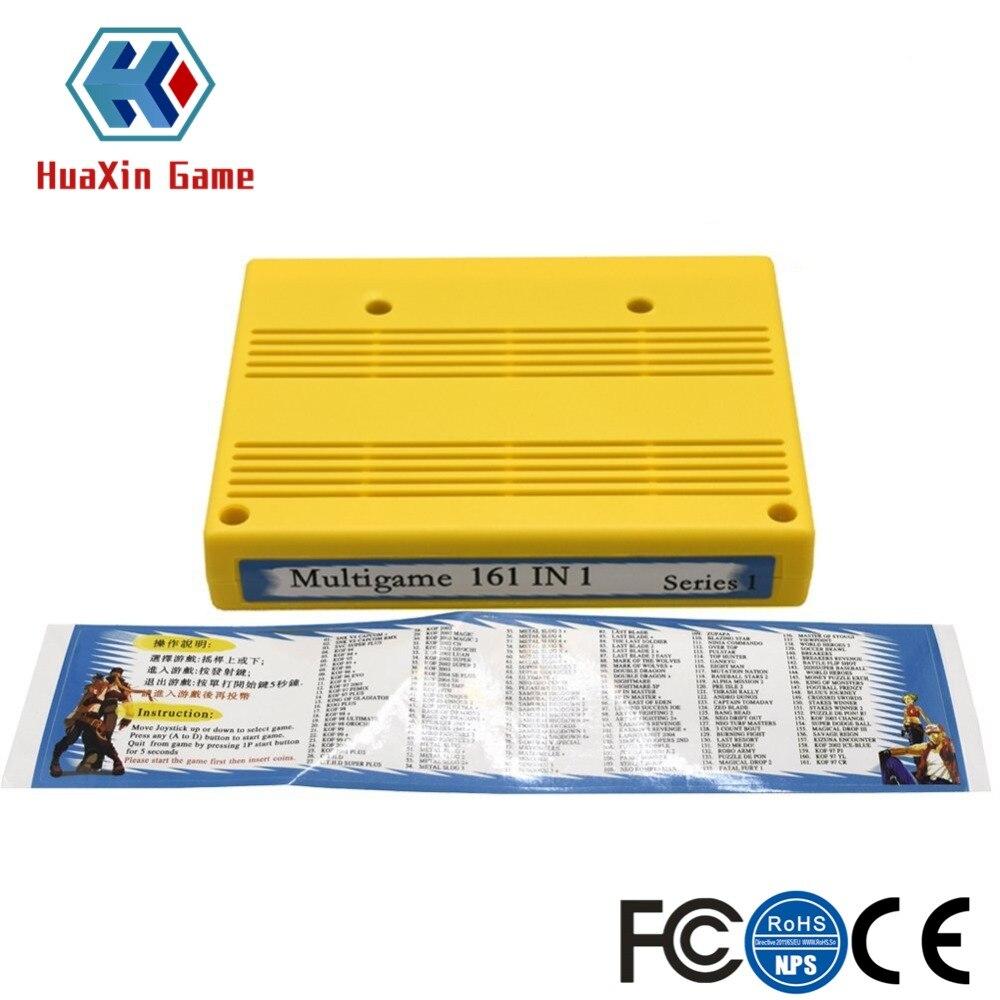 161 dans 1 MVS Cartouche, SNK Jamma Arcade Conseil Multi Jeu Cartouche pour Neo Geo Mvs Arcade Machine Jamma Carte Mère