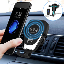 Get more info on the Qi Car Wireless Charger for Samsung S8 Plus Intelligent Infrared Sensor Fast Wirless Charging Car Phone Holder for iPhone 8 X XR