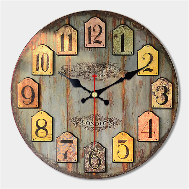 decorative wall clocks decorative colorful wall clock free shipping worldwide 30134