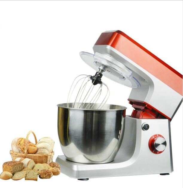 Electric chef mixing machine stand food cake egg dough bread mixer eggs beater food Home use commercal baking blender 6.5L new multi functional dough mixing machine electric dough mixer small automatic food mixers egg beater commercial chef machine