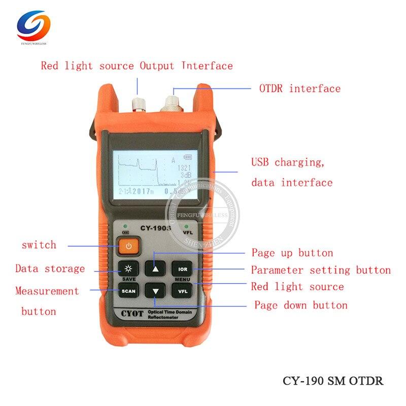 Дешевый FTTH волоконно-оптический сварочный аппарат для сращивания A-81S сварочный аппарат для сращивания с 9 секундами Время сращивания - Цвет: CY190S OTDR