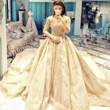UMK Muslim Wedding Dress Ball Gown Wedding Dresses