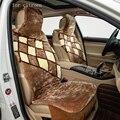 Para citroen c3 c4 c5 C Quatre C Elysee patrón mantener caliente asiento de coche de la felpa cubierta de asiento delantero y trasero lleno de gel de sílice del medio ambiente