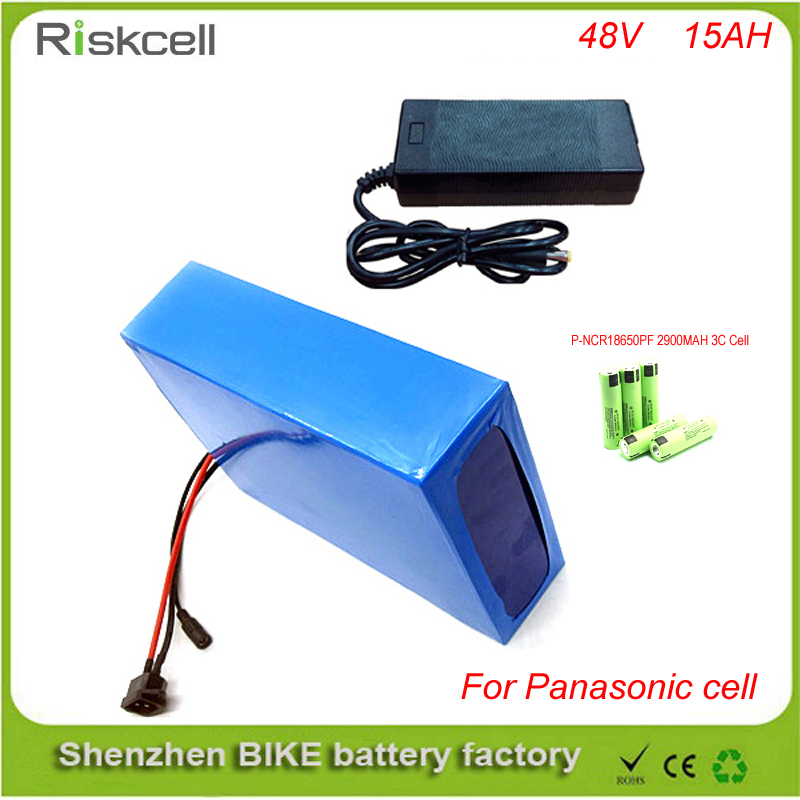 Free customs taxes Super power  1000w 48V li-ion battery pack with  30A BMS 48v 15ah lithium battery pack For Panasonic Cell 30a 3s polymer lithium battery cell charger protection board pcb 18650 li ion lithium battery charging module 12 8 16v