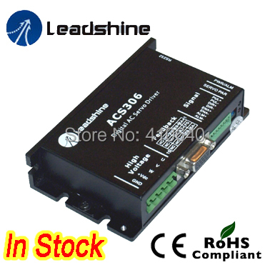 Leadshine ACS306 DC Input Brushless Servo Drive with 20-30 VDC Input Voltage and 15A Current leadshine hbs86 easy servo drive with maximum 20 80 vdc input voltage and 8 5a peak current