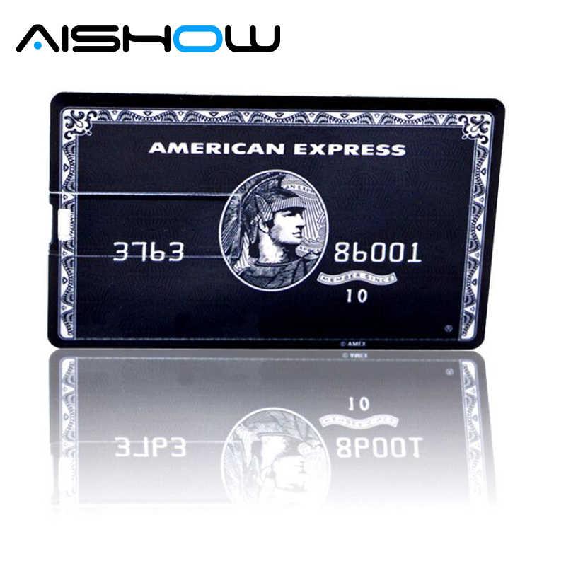 جديد رائجة البيع بندريف 4 GB/8 GB/16 GB/32 GB/64 GB بطاقة بنك ائتمانية الشكل محرك فلاش usb القلم محركات ذاكرة عصا أفضل الهدايا
