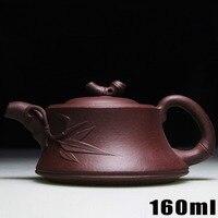 Authentic Yixing Kung Fu Tea Set Teapots 160ml Chinese Handmade Zisha Ceramic Sets Porcelain Kettle High