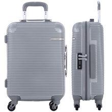 DAVIDJONES 28 inches large hardside luggage TSA lock trolly suitcase