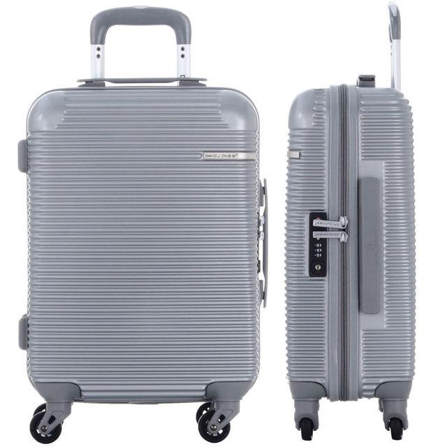 DAVIDJONES Multiwheel valise, 28 inches luggage ABS Travel waterproof luggage rolling suitcase TSA lock travel business holiday